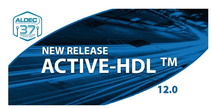 Выпущен новый релиз симулятора ПЛИС Active-HDL 12.0!